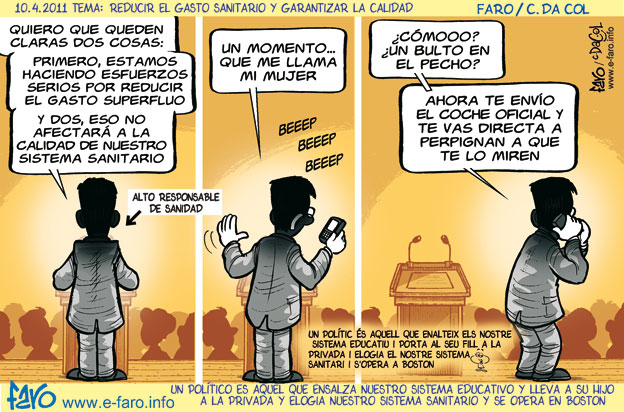 Viñeta de Faro (10.04.2011)