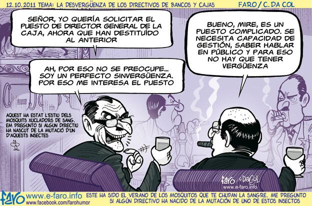 Viñeta de Faro (13.10.2011)